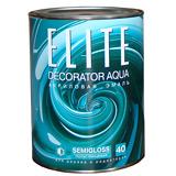 Эмаль акриловая Elite Decorator Aqua