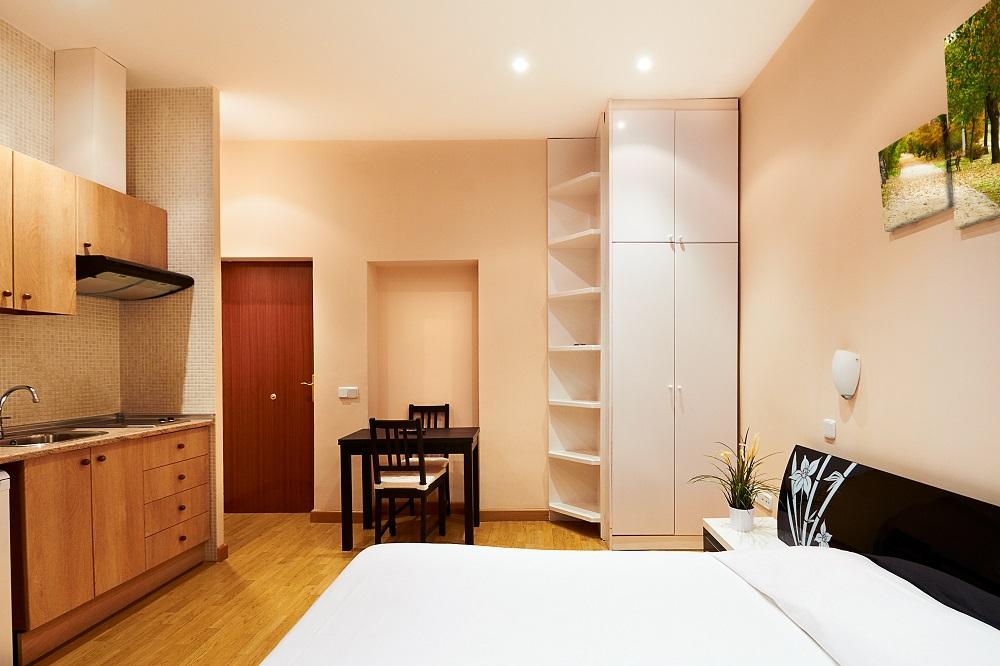 Окрашенная комната